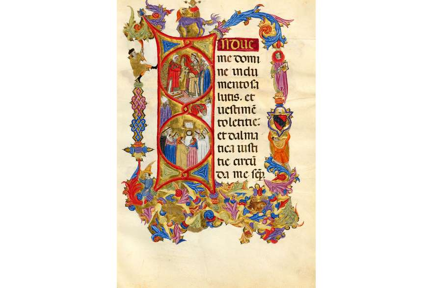 ILLUMINATED FACSIMILES®, ArtCodex – Pontificale di Bonifacio IX – photo 01, copyright ArtCodex