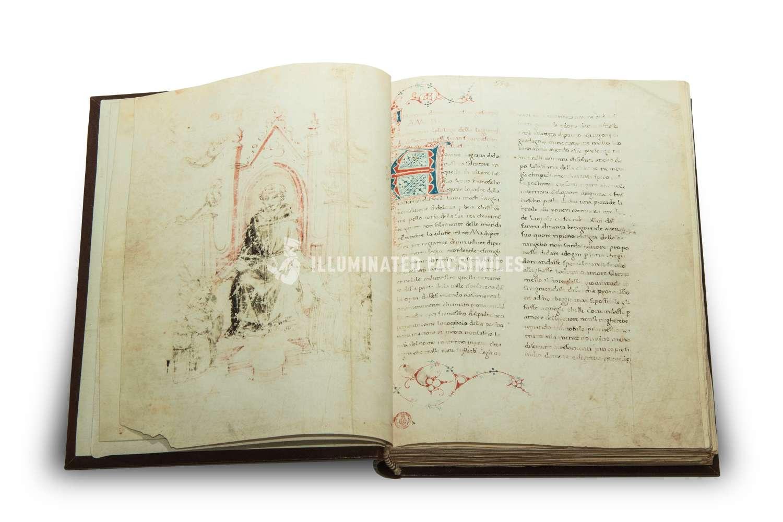 ILLUMINATED FACSIMILES®, ArtCodex – San Francesco d'Assisi, la Vita e le Opere – photo 05, copyright Illuminated Facsimiles