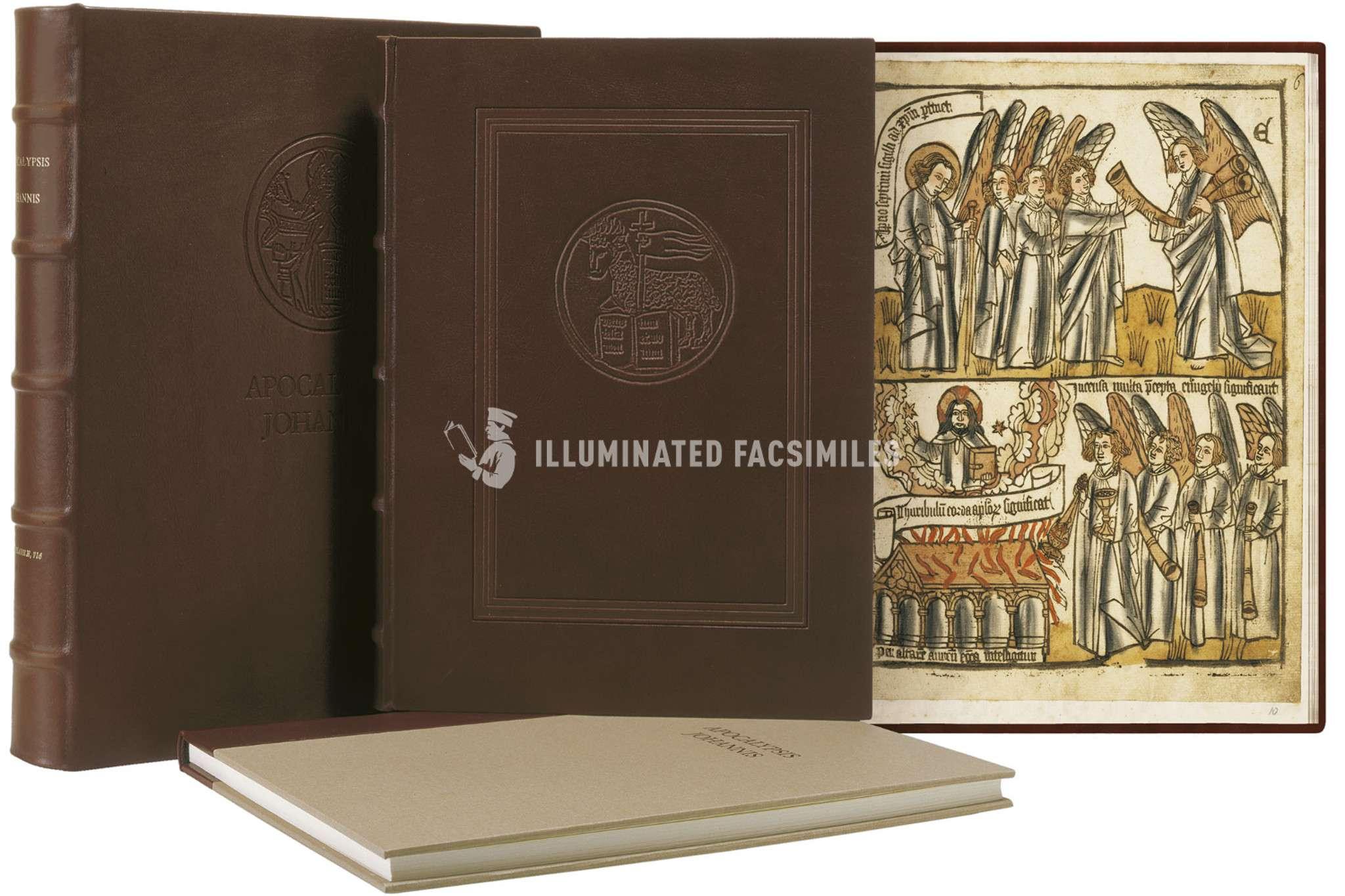 ILLUMINATED FACSIMILES®, Il Bulino edizioni d'arte – Apocalypsis Johannis – photo 01, copyright Il Bulino edizioni d'arte