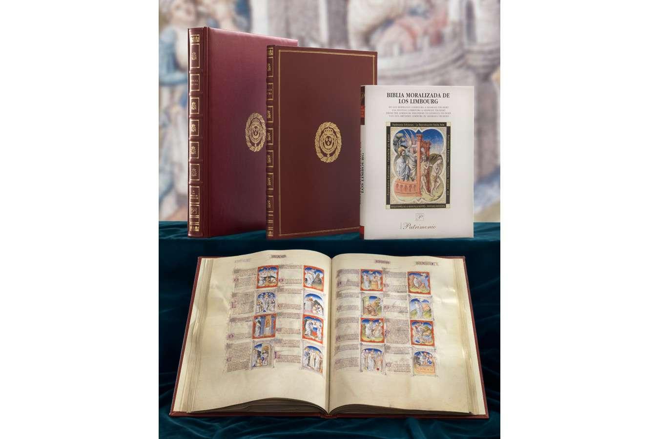ILLUMINATED FACSIMILES®, Patrimonio Ediciones – Biblia Moralizada – photo 01, copyright photo Patrimonio Ediciones