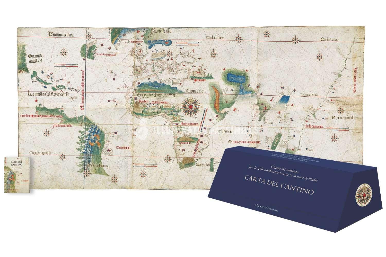 ILLUMINATED FACSIMILES®, Il Bulino edizioni d'arte – Carta del Cantino – photo 01, copyright Il Bulino edizioni d'arte