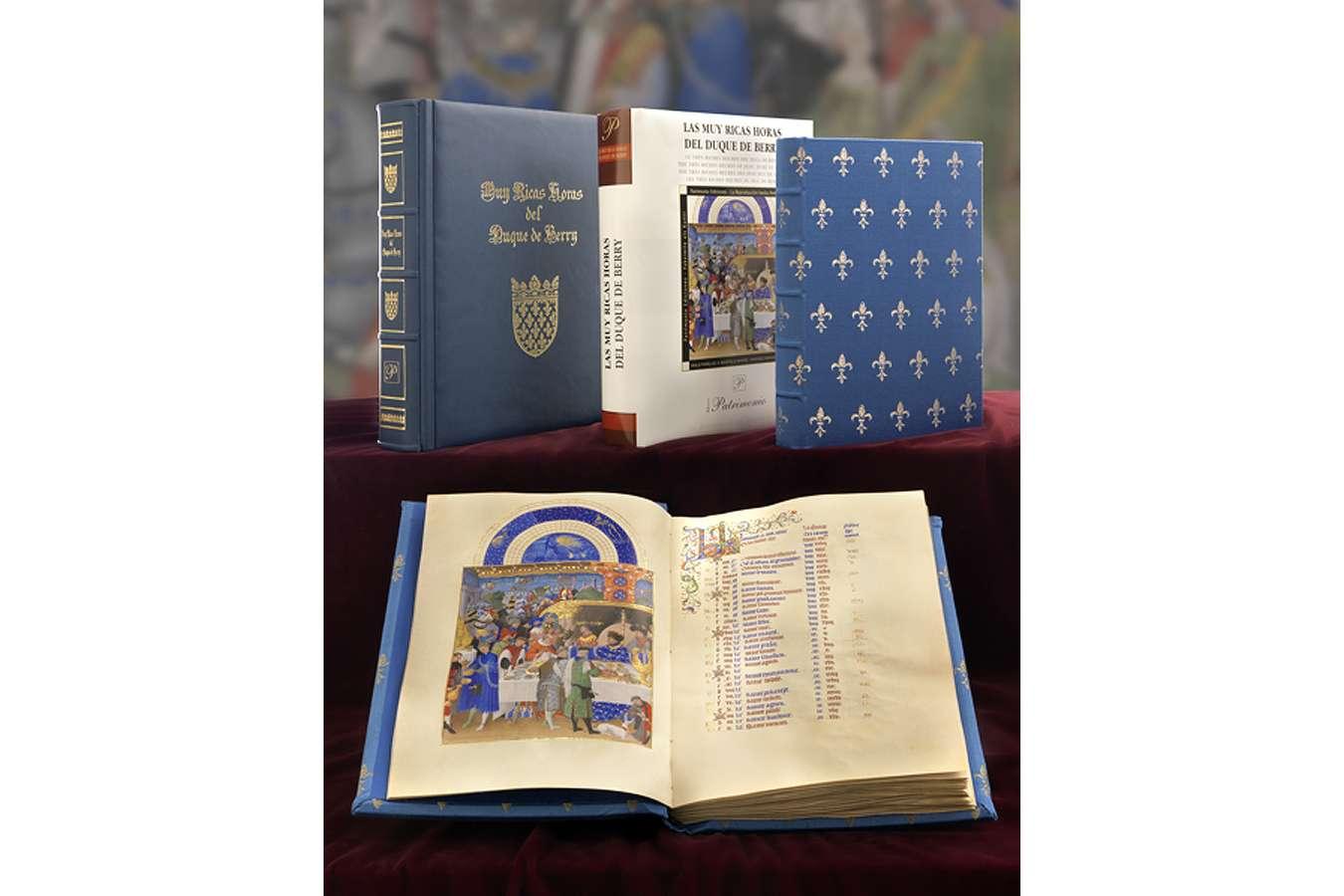 ILLUMINATED FACSIMILES®, Patrimonio Ediciones – Muy Ricas Horas del Duque de Berry – photo 01, copyright Patrimonio Ediciones