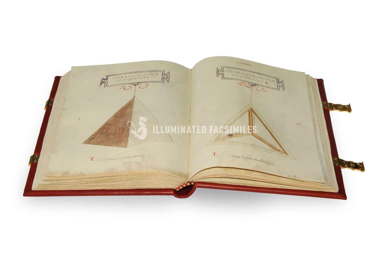 ILLUMINATED FACSIMILES®, Aboca Museum – De Divina Proportione (limited edition) – photo 04, copyright Illuminated Facsimiles