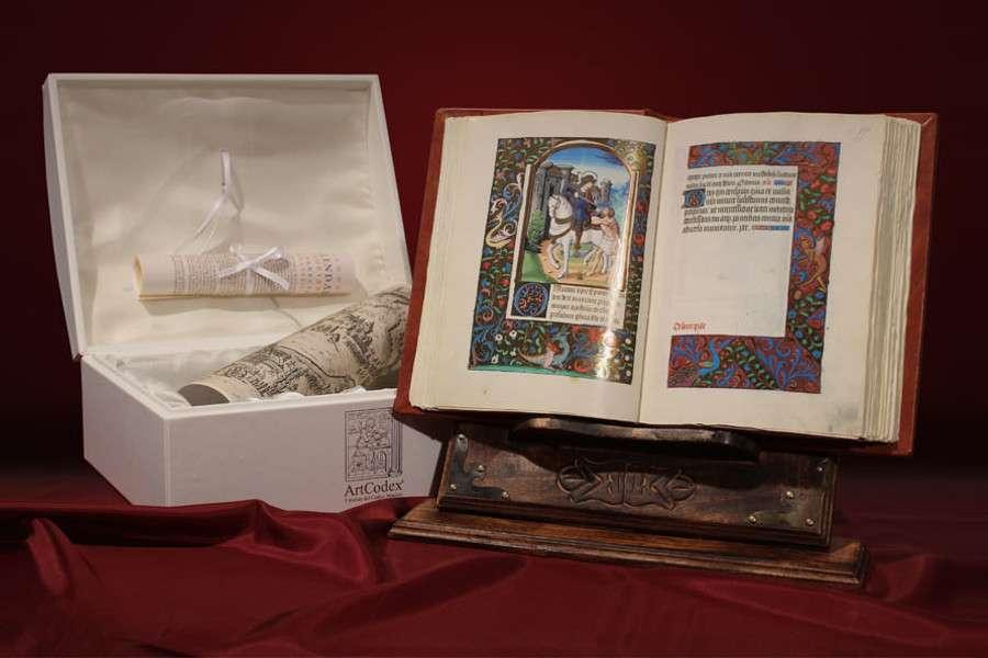 ILLUMINATED FACSIMILES®, ArtCodex – Libro d'Ore di Gregorio XIII – photo 01 – copyright ArtCodex