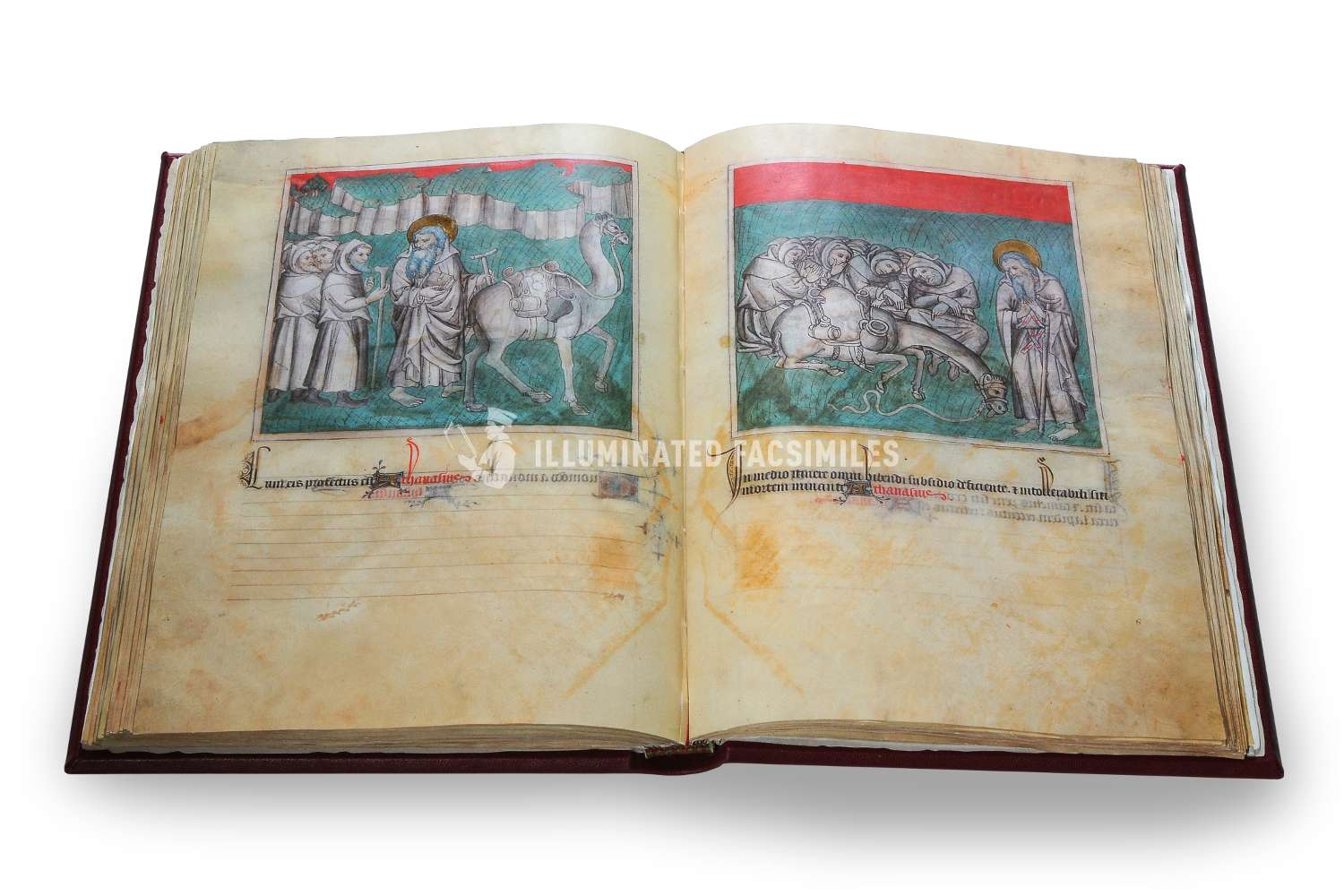 ILLUMINATED FACSIMILES®, ArtCodex – Sant'Antonio Abate, la Vita e le Opere – photo 09, copyright Illuminated Facsimiles