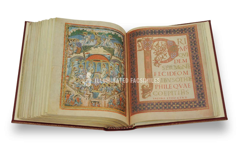 ILLUMINATED FACSIMILES®, Editalia – Bibbia di San Paolo – photo 15, copyright Illuminated Facsimiles