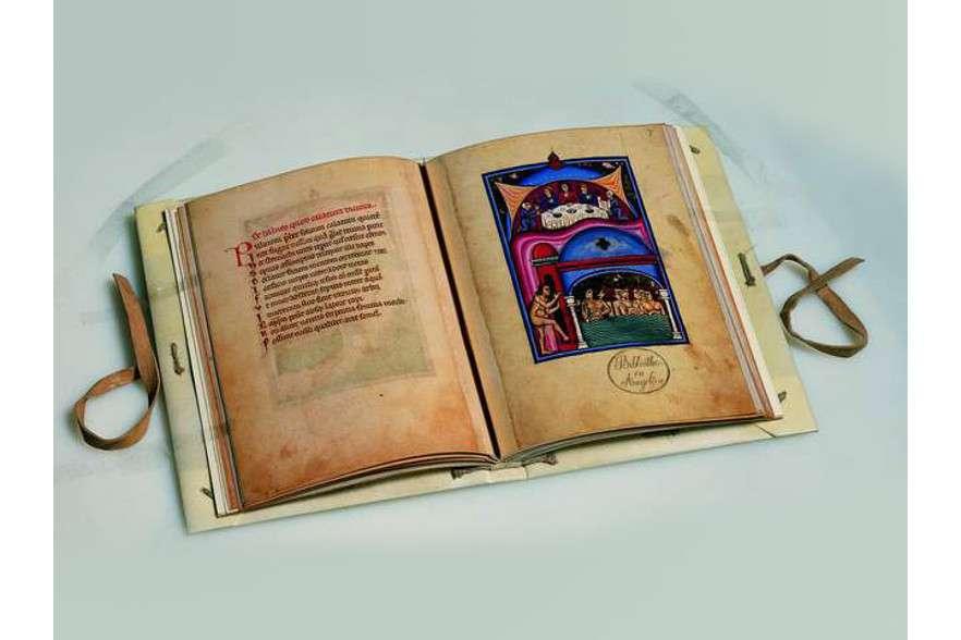 ILLUMINATED FACSIMILES®, Editalia – De Balneis Puteolanis – photo 01, copyright Editalia