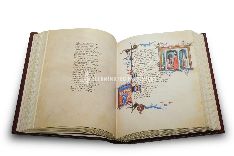 ILLUMINATED FACSIMILES®, Treccani – Tragedie di Seneca – photo 06, copyright Illuminated Facsimiles
