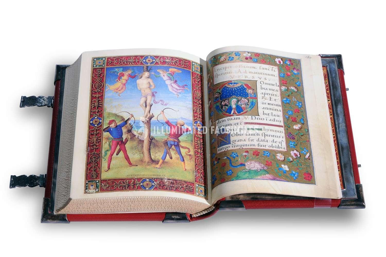 ILLUMINATED FACSIMILES®, Franco Cosimo Panini Editore – Libro d'Ore Ghislieri – photo 07, copyright Illuminated Facsimiles