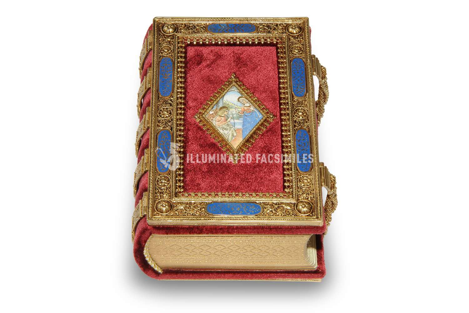 ILLUMINATED FACSIMILES®, Franco Cosimo Panini Editore – Ore Medici Rothschild – photo 01, copyright Illuminated Facsimiles