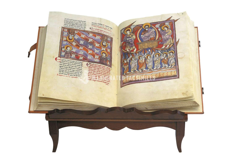 ILLUMINATED FACSIMILES®, Millennium Liber – Beato de Liébana – Códice de Navarra – photo 01, copyright Millennium Liber