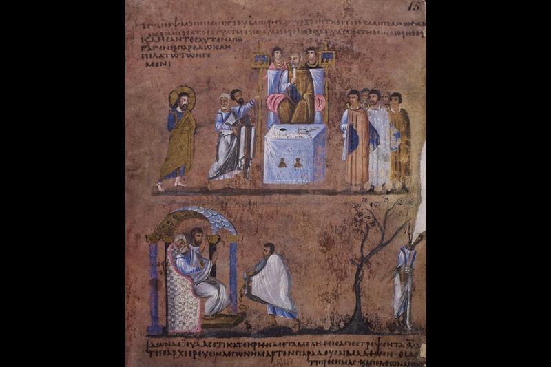 ILLUMINATED FACSIMILES®, Salerno Editrice – Codex Purpureus Rossanensis – photo 01, copyright Salerno Editrice