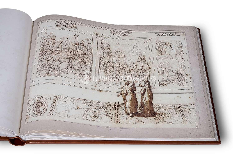 ILLUMINATED FACSIMILES®, Salerno Editrice – Dante Historiato da Federigo Zuccaro – photo 04, copyright Illuminated Facsimiles