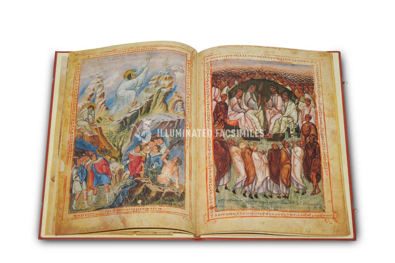 ILLUMINATED FACSIMILES®, Belser Verlag – Bibel des Leo Patricius – photo 03, copyright Illuminated Facsimiles