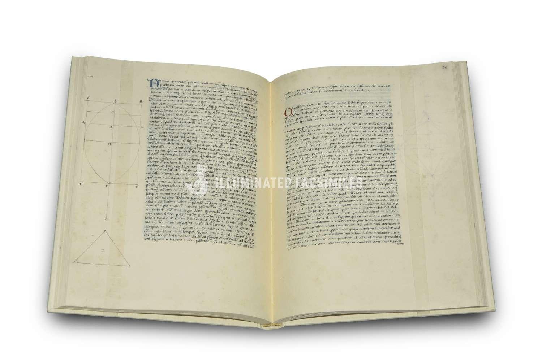 ILLUMINATED FACSIMILES®, Grafica European Center of Fine Arts – L'Archimede di Piero – photo 02, copyright Illuminated Facsimiles