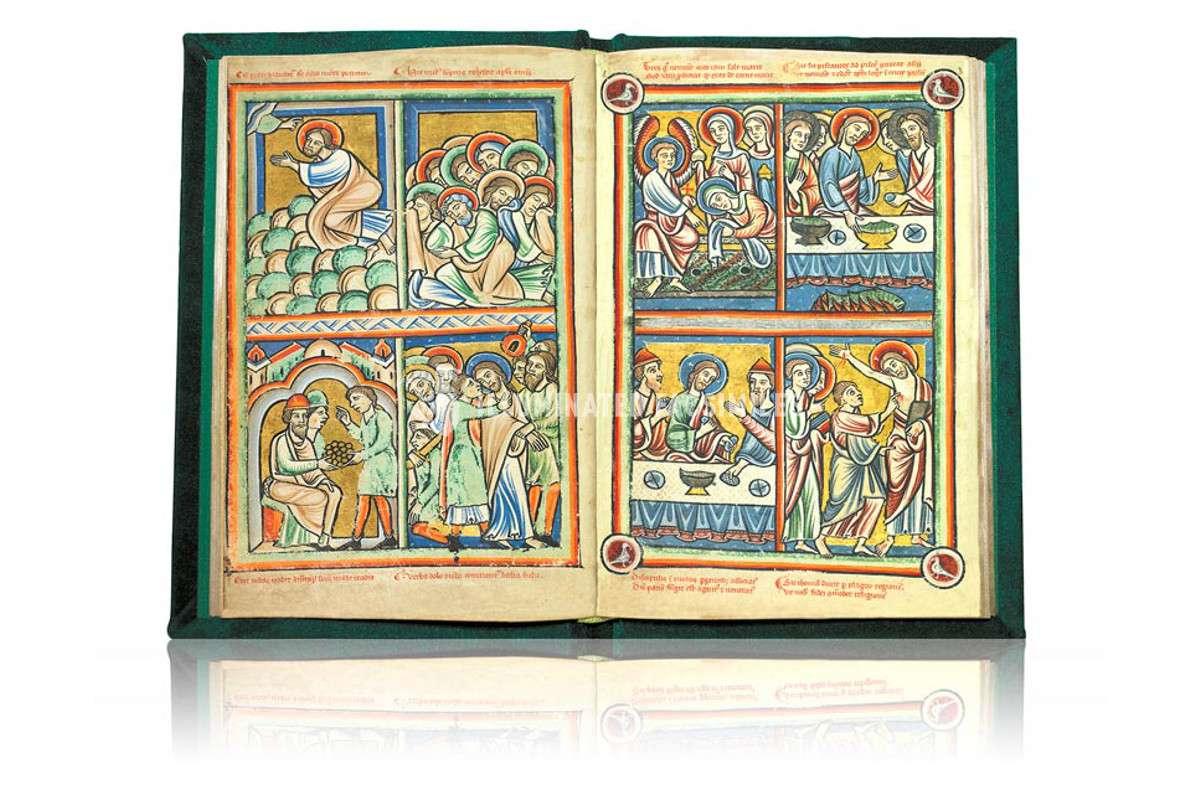 ILLUMINATED FACSIMILES®, Orbis Mediaevalis – Biblia Ilustrada de la Haya – photo 01, copyright Piaf S.L.