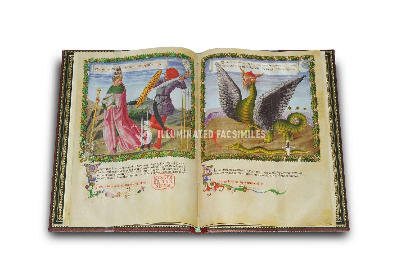 ILLUMINATED FACSIMILES®, Patrimonio Ediciones – Vaticinia Pontificum de Benozzo Gozzoli – photo 02, copyright Illuminated Facsimiles