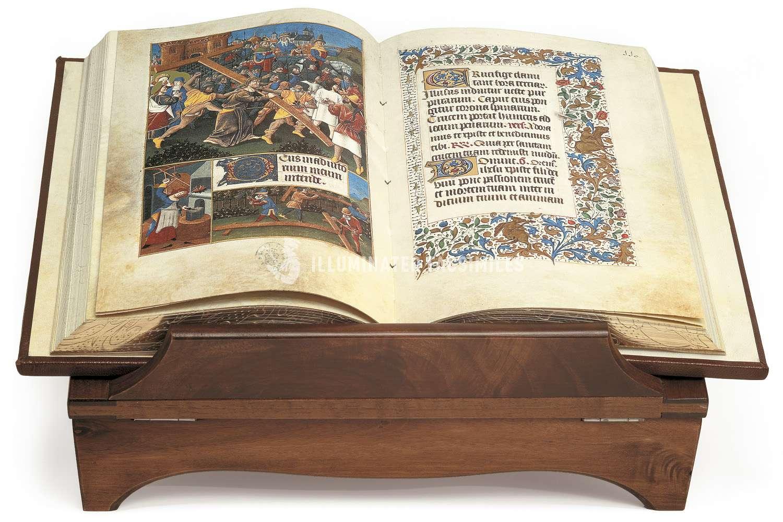 ILLUMINATED FACSIMILES®, Millennium Liber – Libro de Horas de los Retablos – photo 01, copyright Il Bulino edizioni d'arte