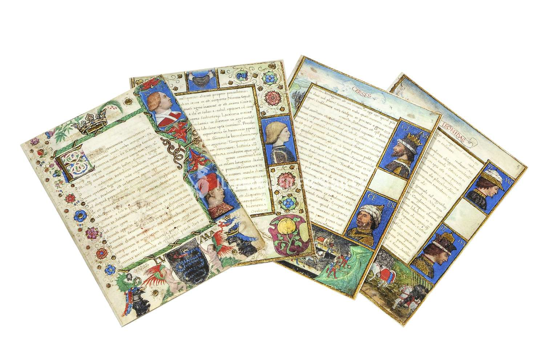 ILLUMINATED FACSIMILES®, Nova Charta Editori – Codice Sforza di Torino – photo 01, copyright Illuminated Facsimiles
