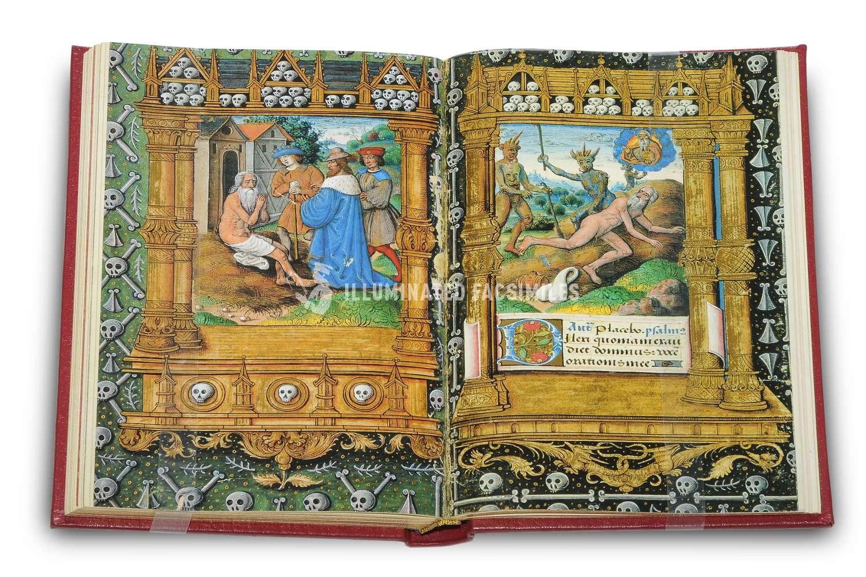 ILLUMINATED FACSIMILES®, Belser Verlag – Stundenbuch für Rouen – photo 04, copyright Illuminated Facsimiles