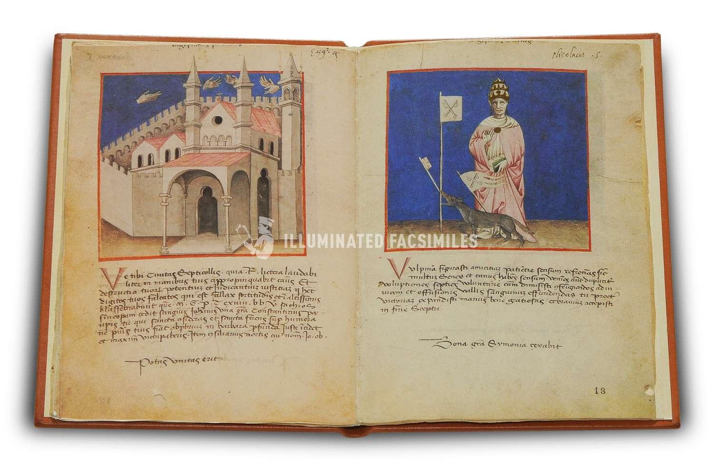 ILLUMINATED FACSIMILES®, Belser Verlag – Weissagungen über die Päpste – photo 03, copyright Illuminated Facsimiles